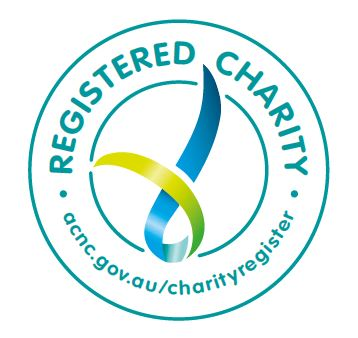 Australian Charities and Not-for-profits Commission registered charity stamp